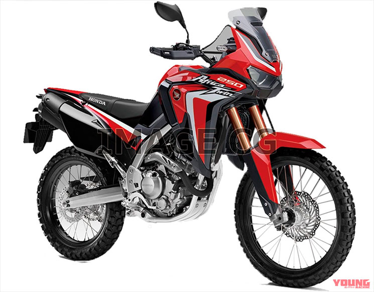africa twin 250