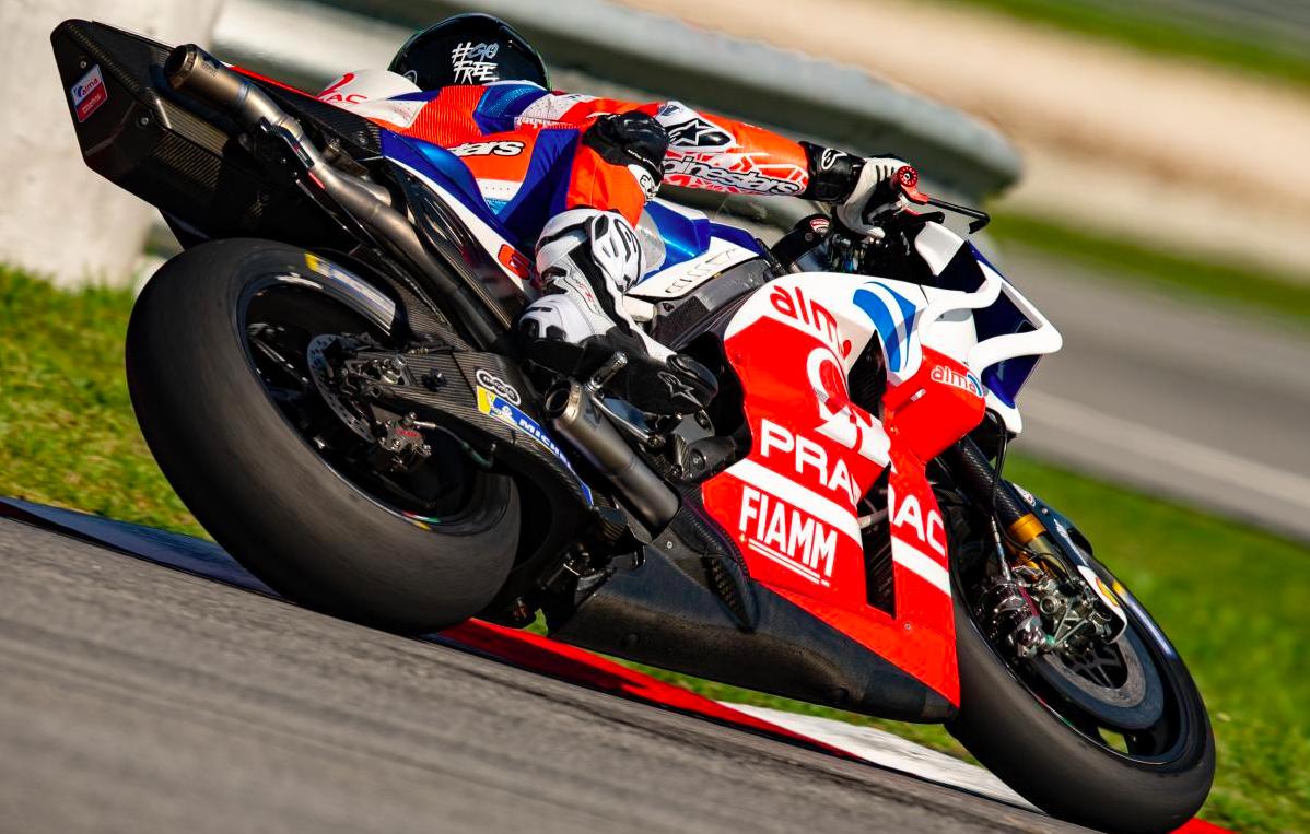 Pecco Bagnaia, rookie en el equipo Pramac Racing 2019.