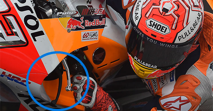 La estremecedora caída en motocicleta de Marc Márquez