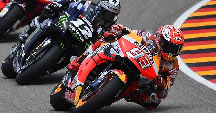 Marc Márquez se impone en Alemania y extiende su liderazgo en MotoGP