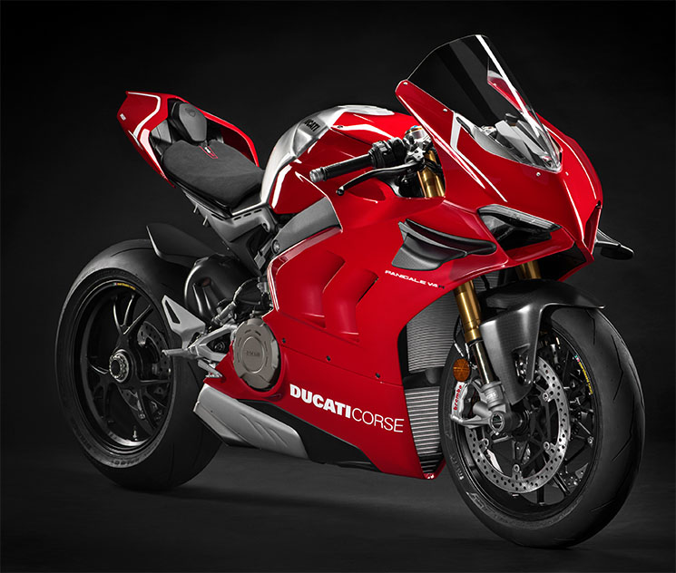 ducati panigale v4 r 2019 una moto de carreras con matr cula alerones y 234 cv de potencia. Black Bedroom Furniture Sets. Home Design Ideas