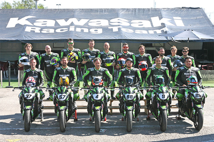 Photo Kawasaki Racing Team