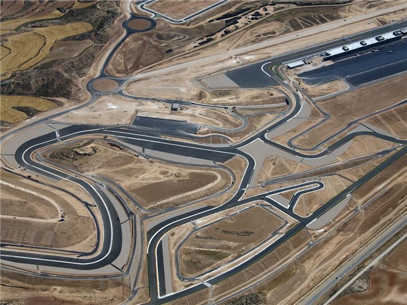 Circuito Motorland : Circuito motorland aragón de alcañiz